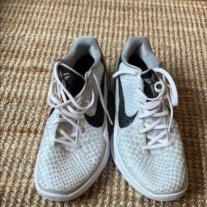 Nike Zoom Kobe 6 TB white black wolf grey